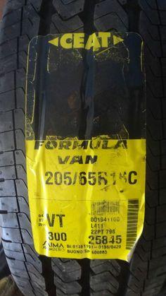 pneumatici nuovi 205/65R16C CEAT 107/105T FOR VAN il prezzo è riferito a 2 gomme