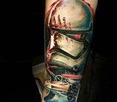 Stormtrooper tattoo by Adrian Ciercoles