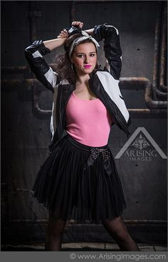 Stupendous 8039S Punk Rock Themed Shoot With Our 2015 Senior Models Hairstyles For Women Draintrainus