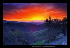 Tount Diablo Sunset by Photo Works by Laszlo, via Flickr