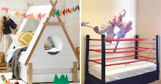 They'll be begging for bedtime when they see these 15 cool and quirky kids beds.