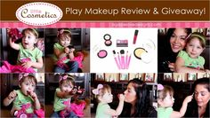 Little Cosmetics Review & Giveaway! Do you have a little diva at home who loves makeup just as much as you do!? Then you MUST check out this review and giveaway of Little Cosmetics!!  #littlecosmetics #pretendmakeup #makeup #beauty #funforkids #giftidea
