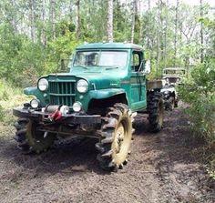 "flexrocksrollovers: ""Old school mud truck! #flexrocksrollovers #jeep #jeep…"