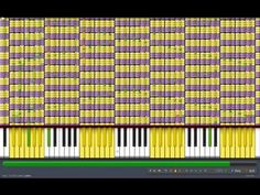 """[Black MIDI] Synthesia - """"What does the Fox Say?"""" 1.1 Million Notes - The Fox - Ylvis ~ Gingeas - YouTube"""