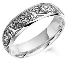Celtic Wedding ring, Book of kells, time vortex