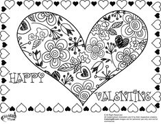 40 Best Coloring Pages Valentine S Day Images Coloring Pages