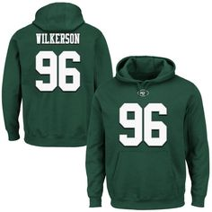 youth limited white 11 jerseys muhammad wilkerson new york jets majestic eligible receiver ii name number hoodie green