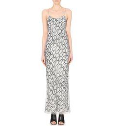 JOSEPH - Slippy rope-print silk maxi dress | Selfridges.com