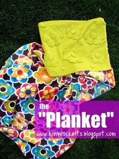 "Pillow-Blanket (""Planket"") Sewing Tutorial (Swell Noel Idea #1) 