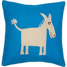 @Overstock - Set includes: One decorative pillow Pattern: Donkey Reverse pattern: Plain http://www.overstock.com/Home-Garden/Donkey-Applique-Decorative-Wool-Pillow/6316444/product.html?CID=214117 $45.99
