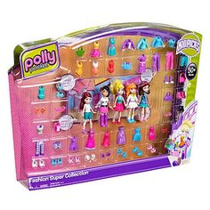 Polly Pocket Go Tiny! Room Playset with Adventure Dolls & Accessories 887961639186 Childhood Toys, My Childhood Memories, Casa Lego, Poly Pocket, 90s Toys, Retro Toys, Chic Nails, Toy Craft, Nail Stickers