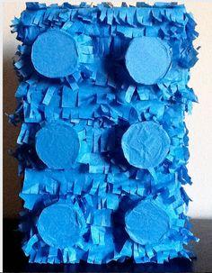 New Lego Pinata Birthday Party Brick Pinata