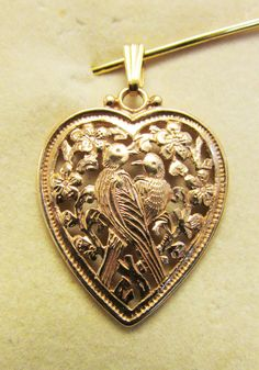Vintage Estate Ming's of Honolulu 14K Bird and by Alohamemorabilia