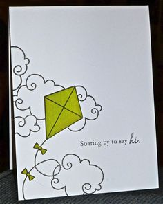 FS322 Soaring By To Say Hi by hskelly - Cards and Paper Crafts at Splitcoaststampers
