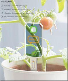 Concept Plant monitor