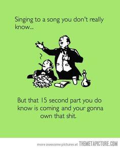 haha! so true / Funny