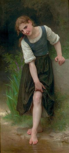 The Ford by William-Adolphe Bouguereau