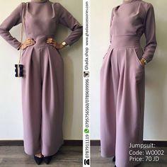 Modest Fashion, Hijab Fashion, Fashion Dresses, Elegant Dresses Classy, Classy Dress, Jumpsuit Hijab, Hijab Dress Party, Muslim Dress, Islamic Fashion