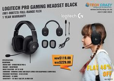 Dolby Atmos, Gaming Headset, Logitech, Auckland, 1 Year, Headphones, Range, Games, Search