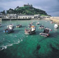St Michael's Mount, National Trust, Cornwall Hetitage