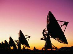 Very Large Array (Vla), Radio Telescope, USA Photographic Print  http://www.allposters.com/-sp/Very-Large-Array-Vla-Radio-Telescope-USA-Posters_i3646258_.htm