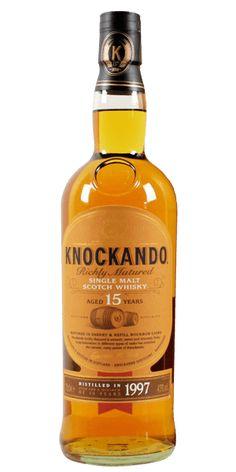 Discover Knockando Richly Matured 15YO 1997 Single Malt Whisky at Flaviar