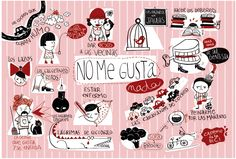 ¿Y a ti? ¿qué no te gusta?   (Ilustración de Amaia Arrazola) #Spanish Get updates for teaching and learning languages:  http://eepurl.com/UewbL  http://reallifelanguage.com/reallifelanguageblog/