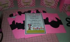 Check out this item in my Etsy shop https://www.etsy.com/listing/279796012/minnie-mouse-pink-invitation