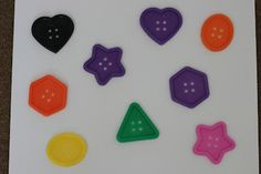 Playing House: Tracing Shapes: A Simple Preschool Activity