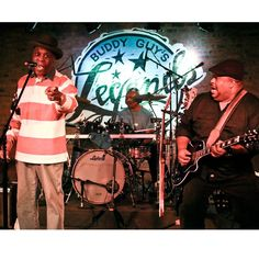 @TheRealBuddyGuy and Larry McCray #Blues #Legends