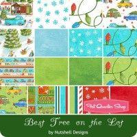 Best Tree on the Lot YardageNutshell Designs for Northcott Fabrics