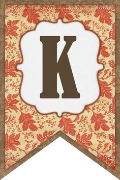 K Fall Banner (The Cottage Market)