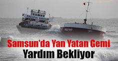 <p>Samsun'da kötü hava şartları sebebiyle karaya vuran ve yan yatan geminin mürettebatı dün itibari ile kurtarılmıştı. Kurtarılan mürettebattan sonra şimdi de dalgalarla mücadele eden gemi kurtarılmayı bekliyor.</p>