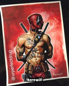 Deadpool By ArteDeCastro Marvel Art, Marvel Dc Comics, Anime Comics, 2pac, Comic Books Art, Comic Art, Book Art, X Men, Hulk
