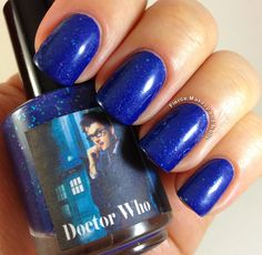 Fierce Makeup and Nails: Honey Buttons Nail Polish: Doctor Who Trio