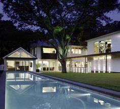 pool, backyard, Residence 1414 and infinity pool
