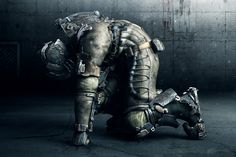 Dead Space 3, Cold Suit, Post-Apocalyptic, dystopia, anti-utopia, industrial, Concept Art