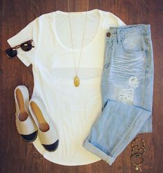 Tongue Tied Top in White