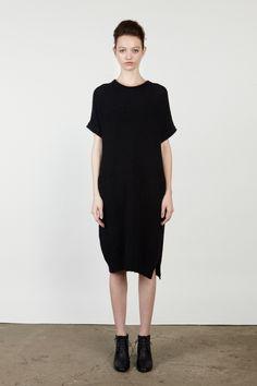 Chalayan Knit Shirt Dress