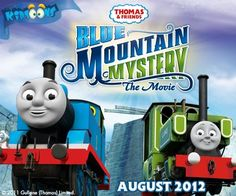 Thomas Blue Mountain Mystery Movie - looks like a perfect option for D's first movie this month! Plus, a giveaway from gretasday.com