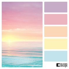 Beautiful sunset mashed with the perfect colour scheme