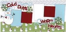 Out On A Limb Scrapbooking Premade Page Kit - Cold Days, Warm Hearts