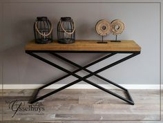 Sidetable industrieel ♥