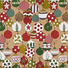 The Container Store > Kraft Baubles Gift Wrap
