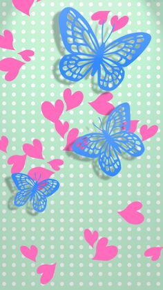 Pink Wallpaper Girly, Smile Wallpaper, Phone Screen Wallpaper, Butterfly Wallpaper, Cute Wallpaper Backgrounds, Cellphone Wallpaper, Cute Wallpapers, Iphone Wallpaper, Butterfly Crafts