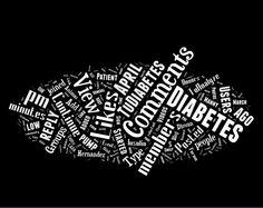 TuDiabetes Word Cloud
