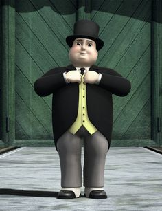 Is Sir Topham Hatt a robber baron or a paternalistic CEO? Are Thomas the Tank Engine and his friends part of a union? How does anyone make money on the Island of Sodor? Thomas The Train Birthday Party, Trains Birthday Party, Train Party, Car Party, Baby Costumes, Halloween Costumes For Kids, Halloween Ideas, Thomas And His Friends, Feltro
