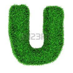 Billedresultat for grass letters