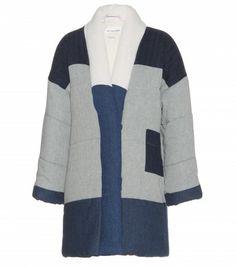Isabel Marant, Étoile - Delma padded linen and cotton-blend coat - mytheresa.com GmbH