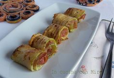 #ricetta #gialloblogs #foodporn #zucchine Involtini di zucchine light   In cucina con Mire
